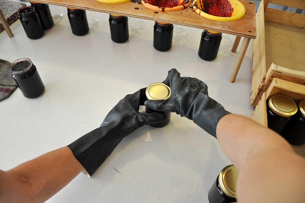 Fabrication des confitures
