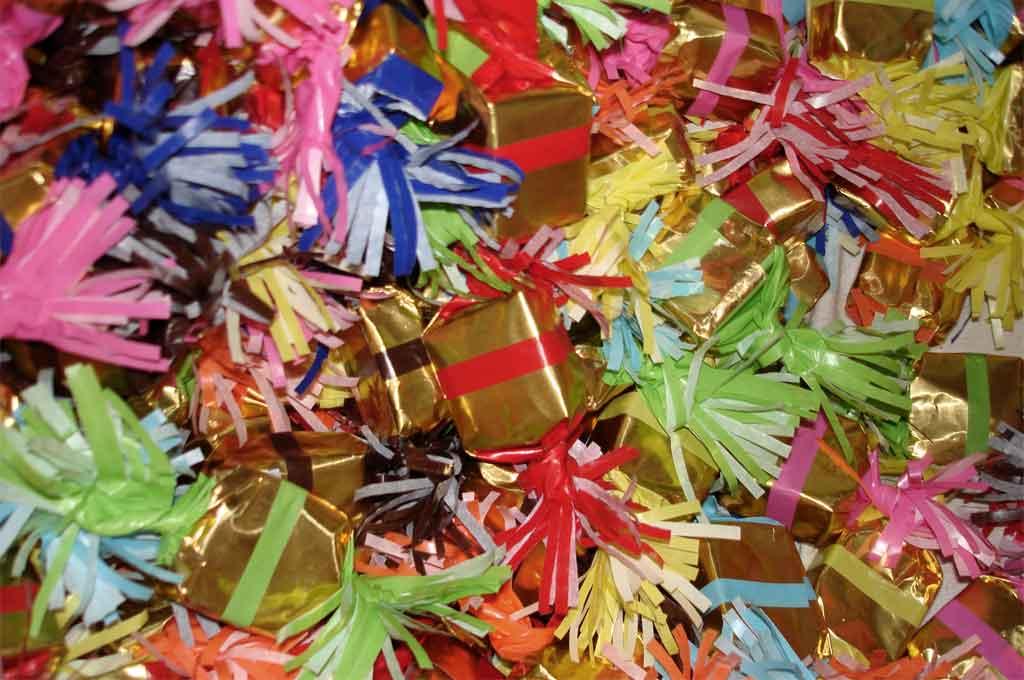 Fabrication des papillotes de Noël
