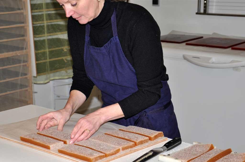 Fabrication des pâtes de fruit